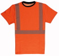 Warnschutz-T-Shirt Stretch EN 20471