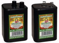 Blockbatterie 6V