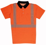 Warnschutz-Poloshirt Stretch EN 20471 REFLECTIQ